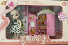 Kichen Set And Girls Toys (MULTI COLOR) (ONE SIZE)