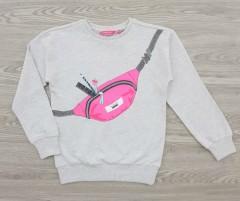 FUTURINO Girls Sleeveless Shirt (GRAY) (128 to 158 CM)