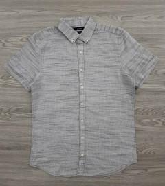 LC WAIKIKI Mens Sleeve Shirt (GRAY) (S - M - L - XL - 3XL)