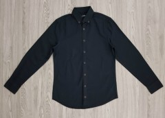 LC WAIKIKI Mens Sleeve Shirt (BLACK) (XS - 3XL)