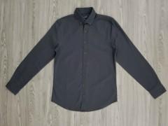 LC WAIKIKI Mens Sleeve Shirt (DARK GRAY) (XS - 3XL)