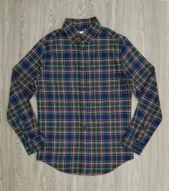 GOODIELLOW - CO Mens Sleeve Shirt (BLUE - GREEN) (S - M - L - XL - XXL)
