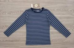 FRIENDS Boys Long Sleeved Shirt (BLUE - NAVY) (110 to 140 CM)