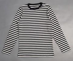 FRIENDS Girls Long Sleeved Shirt (BLACK - WHITE) (104 to 134 CM)