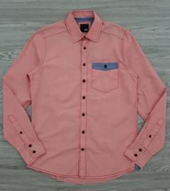 JACK AND JONES Mens Long Sleeved T-Shirt (PINK) (S - M - L - XL)