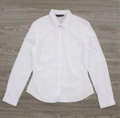 M AND S Ladies Shirt (WHITE) (8 to 22 UK)