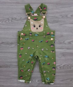 LETTE LILLY Girls Romper (GREEN) (12 Month to 6 Years)