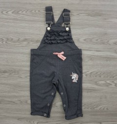 LETTE LILLY Girls Romper (GRAY) (12 Month to 6 Years)