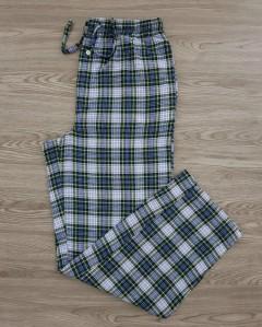 CROWN IVY Mens Pants  (GREEN- LIGHT BLUE) (M - L - XL)