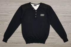 IDENTIC Mens Sweater (BLACK) (S - M - L - XL - XXL)