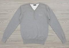 IDENTIC Mens Sweater (GRAY) (S - M - L - XL - XXL)