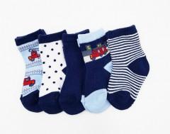 BAROTTI Boys Socks 5 Pack (RANDOM COLOR) (24 to 36 Month)