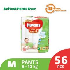 HUGGIES  Gold Pants (M 6-12KG) (56 Pcs) (MOS)