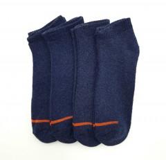 BAROTTI Mens Socks 4 Pcs Pack (NAVY) (FREE SIZE)