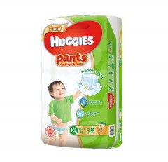 HUGGIES  Gold Pants (XL 12-17KG) (38 Pcs) (MOS)