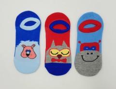 BAROTTI Boys Socks 3 Pcs Pack (AS PHOTO) (7 to 11 Years)