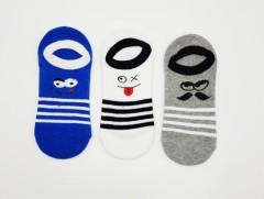 BAROTTI Boys Socks 3 Pcs Pack (RANDOM COLOR) (7 to 11 Years)