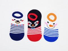 BAROTTI Boys Socks 3 Pcs Pack (RANDOM COLOR) (5 to 9 Years)