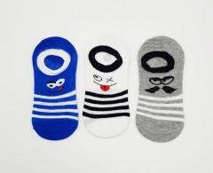 BAROTTI Boys Socks 3 Pcs Pack (RANDOM COLOUR) (5 to 9 Years)