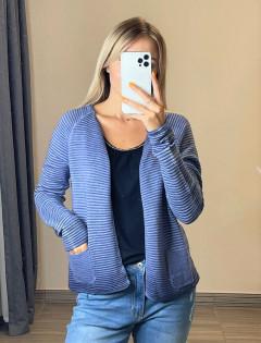 LIEBLINGSS TUCK Ladies Cardigan (BLUE) (S - M - L - XL)