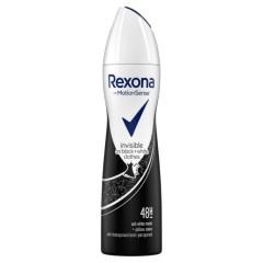 REXONA Invisible On Black + White Clothes Deodorant Spray 200ML