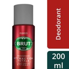 BRUT Attraction Totale Deodorant for Men (200ml) (MOS)
