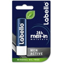 LABELLO Active Care For Men Lip Balm 24h Melt-In Moisture 5.5ml (mos)