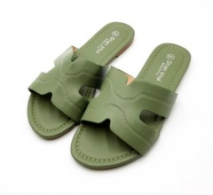 SHAN SHUI Ladies Sandals Shoes (GREEN) (36 to 41)