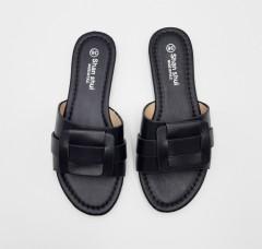 SHAN SHUI Ladies Sandals Shoes (BLACK) (36 to 41)