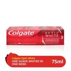 COLGATE Toothpaste Optic White 75ml (Exp:06.2023) (MOS)