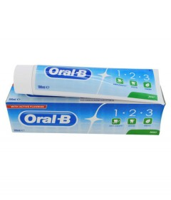 ORAL-B 1-2-3 T Mint Toothpaste 100 ml (Exp: 26.03.2022) (MOS)