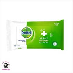 DETTOL  Wet Wipes Original Anti Bakteri ( 50 WIPES) (MOS)