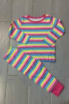 Generic Girls 2 Pcs Pyjama Set (AS PHOTO) (6 Month to 4 Years)