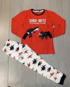 Generic Boys 2 Pcs Pyjama Set (RED-WHITE) (2 to 10 Years)