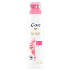 DOVE Shower Mousse With Rose Oil 200ml (MOS)