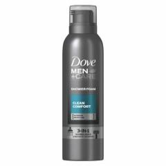 DOVE Men+Care 3 In 1 Shower Foam Clean Comfort  200ml (MOS)