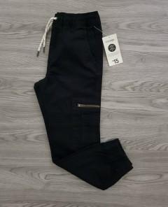 GEORGE Boys Pants (BLACK) (4 to 16 Years)