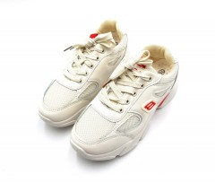 FAMOUS Ladies Shoes (CREAM) (37 to 41)