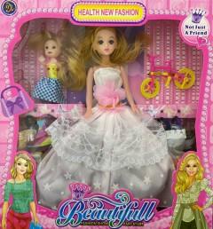 Barbie Toys (WHITE) (One Size)