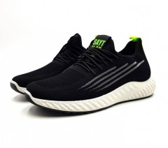 SAYT RLAE Mens Shoes (BLACK) (40 to 45)