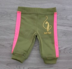 BABY PHAT Girls Pants (OLIVE) (3 to 6 Years)