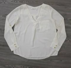 SINSAY Ladies Blouse (WHITE) (XXS - XS - S - M - L - XL)