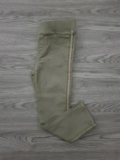 OKAIDI Girls Turkey Pants (GREEN) (3 To 14 Years)