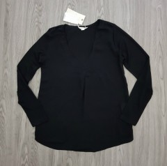 SPRINGFIELD Ladies Blouse (BLACK) (XS - S - M - L - XL)