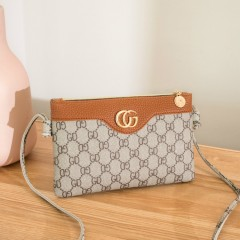 Ladies Hand_bags (GRAY - RED) (Os) (ARC)