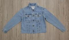 NOISY MAY Ladies Jean Jacket (BLUE) (XS - S - M - L - XL)