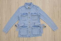 KIABI Ladies Jean Jacket (BLUE) (XS - S - M - L - XL)