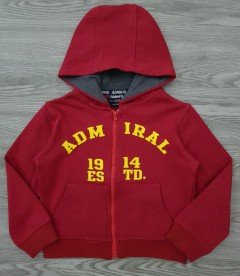 ADMIRAL Boys Hoody (RED) (3 to 7 Years)
