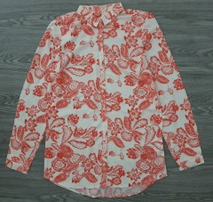 LH Ladies Printed Tops (PINK- WHITE) (S - M - L - XL)