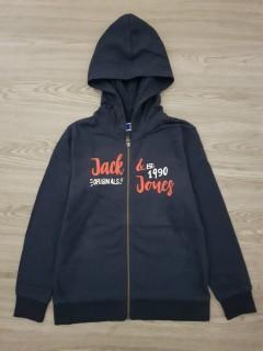 JACK AND JONES Boys Hoodi (NAVY) (12 to 16 years)